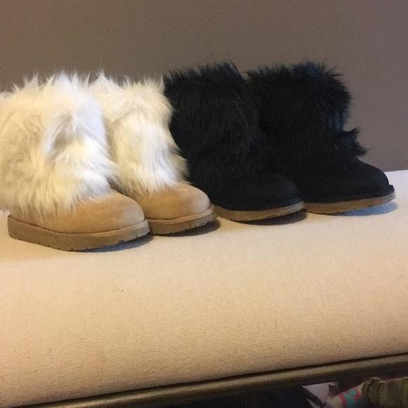 GAP Shoes | Toddler Girl Faux Fur Boots